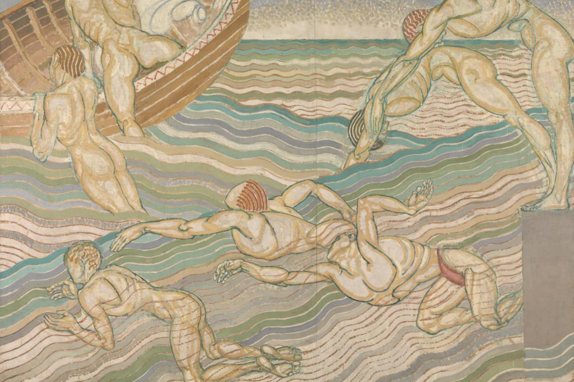 Duncan Grant / Koupání, 1911