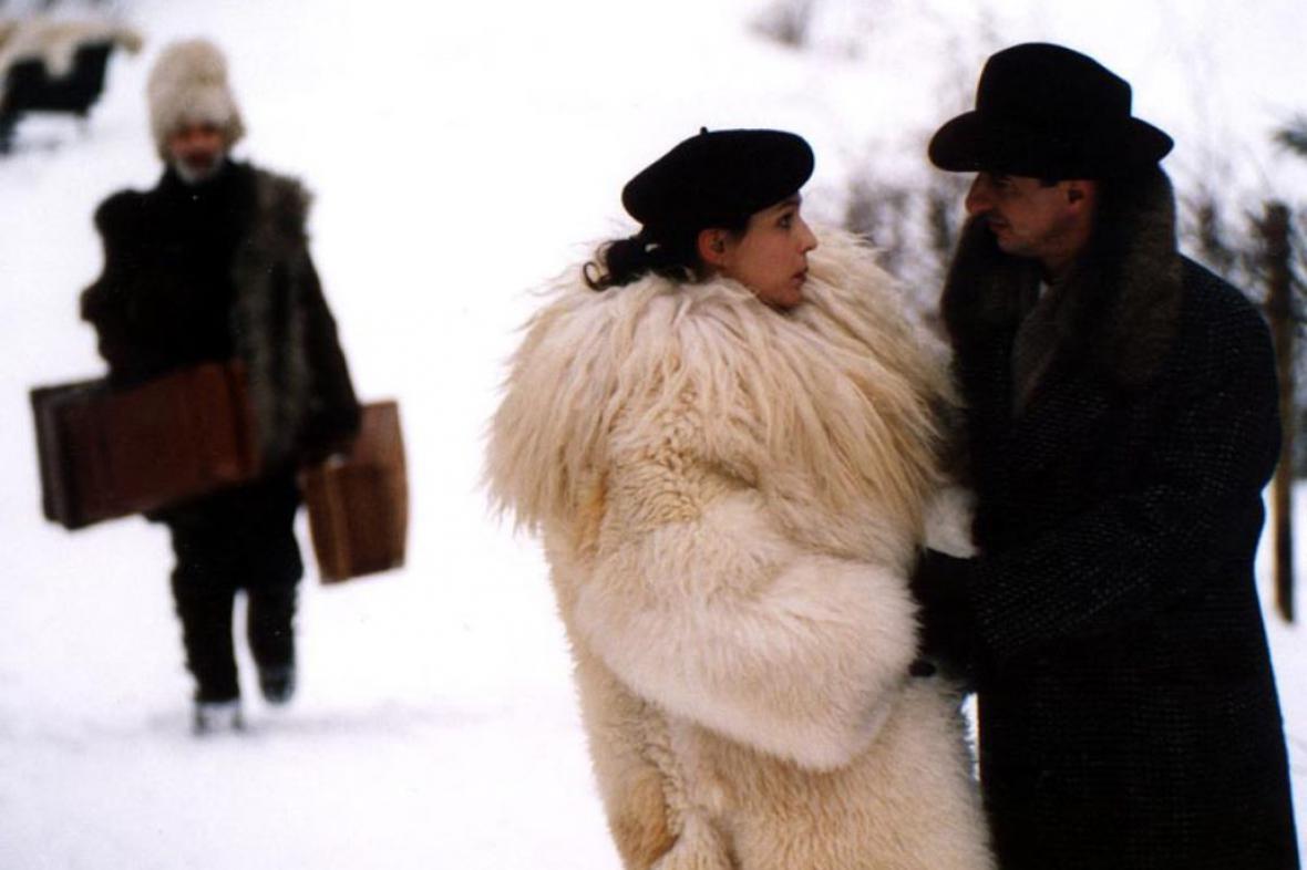 Z filmu Hanele, na kterém také pracovala Jana Dudková