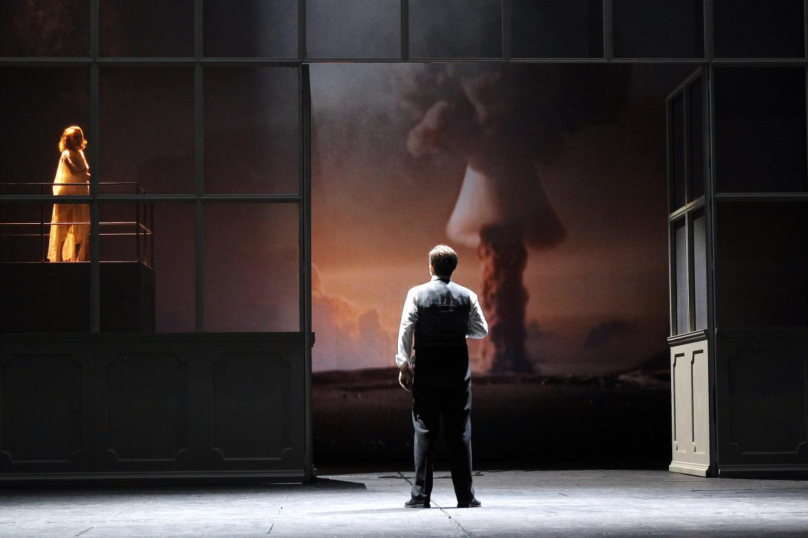 Opera Krakatit v Národním divadle