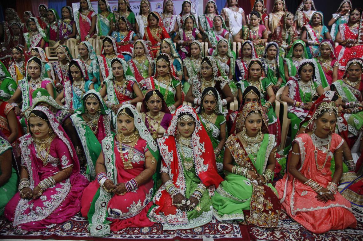 Indická svatba (ilustrační foto)