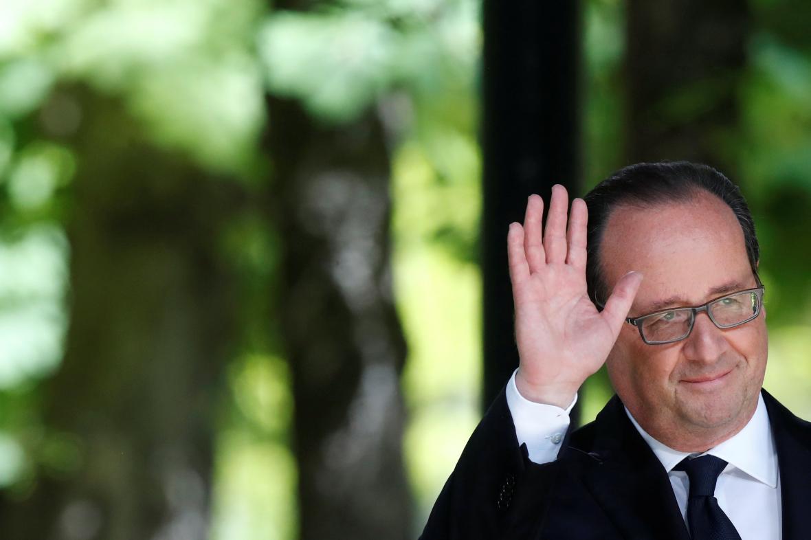 Končící francouzský prezident Francois Hollande