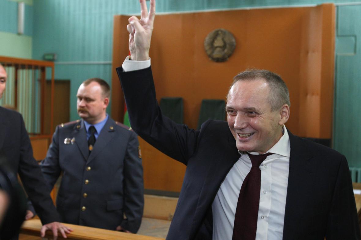 Uladzimir Njakljajev v roce 2011