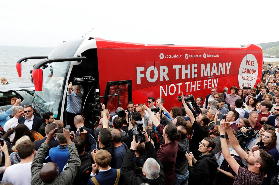 Kampaň britských labouristů