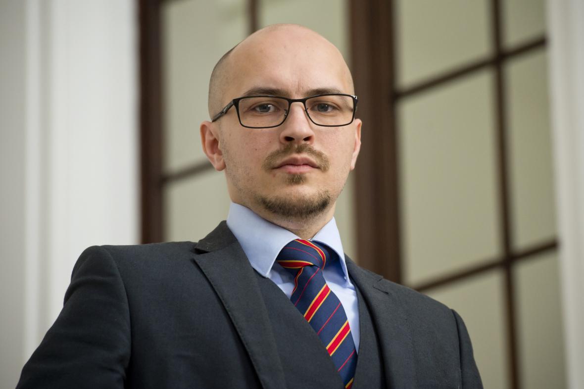 Nový vědecký diplomat Luděk Moravec