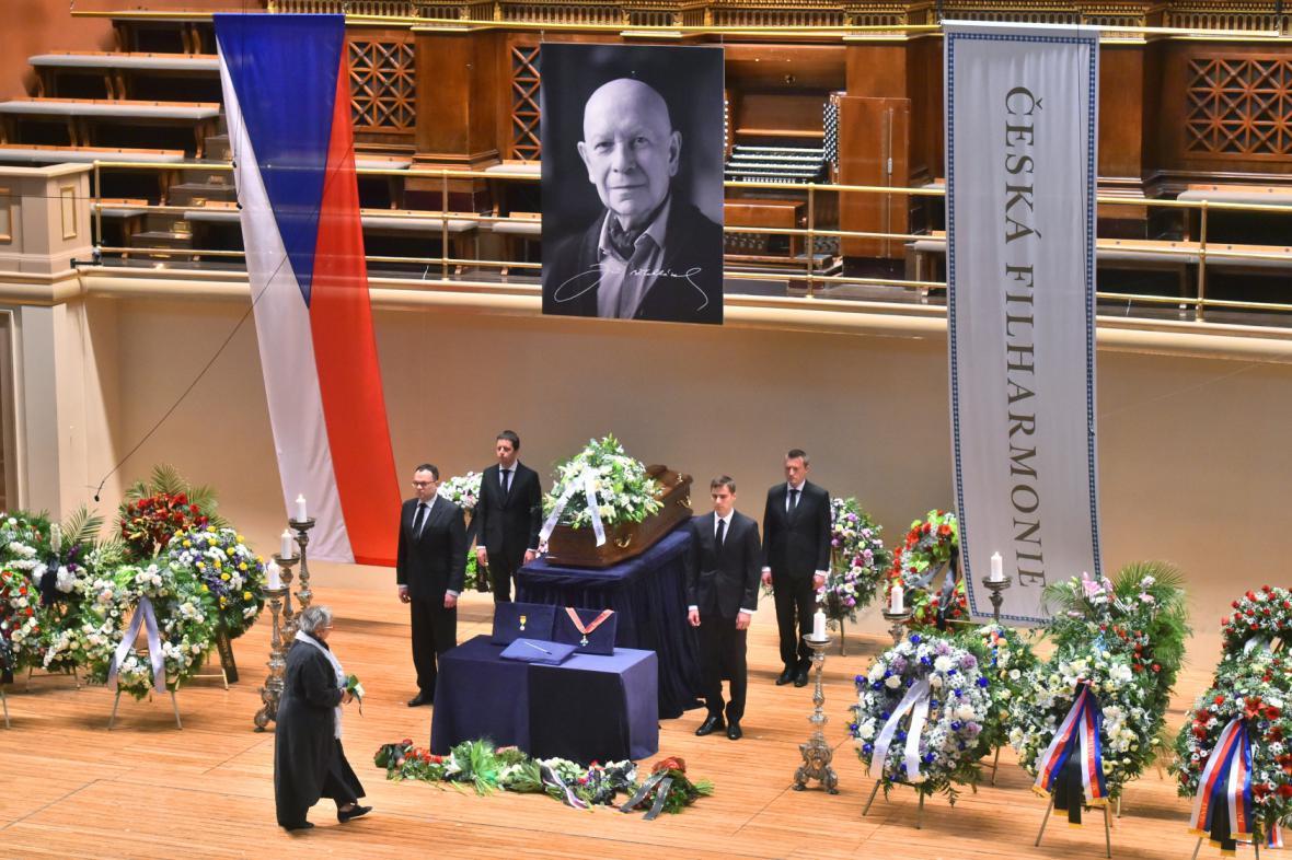 Poslední rozloučení s Jiřím Bělohlávkem