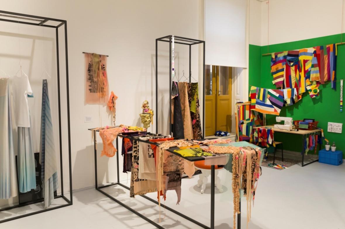 Artsemestr - léto 2017: Ateliér textilní tvorby