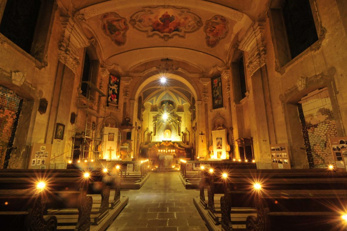 Poutní kostel Navštívení Panny Marie na Karlovarsku