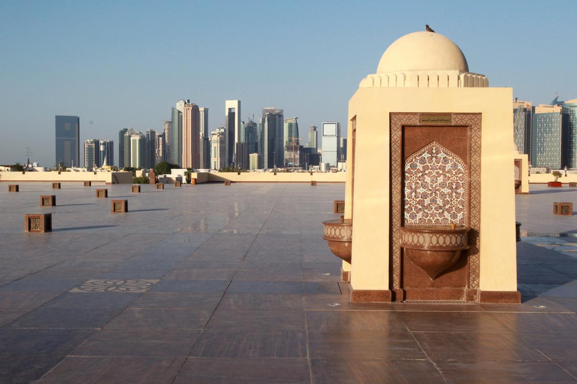 Katarská metropole Dauhá