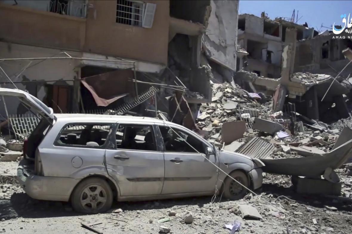 Boj o syrské město Rakká