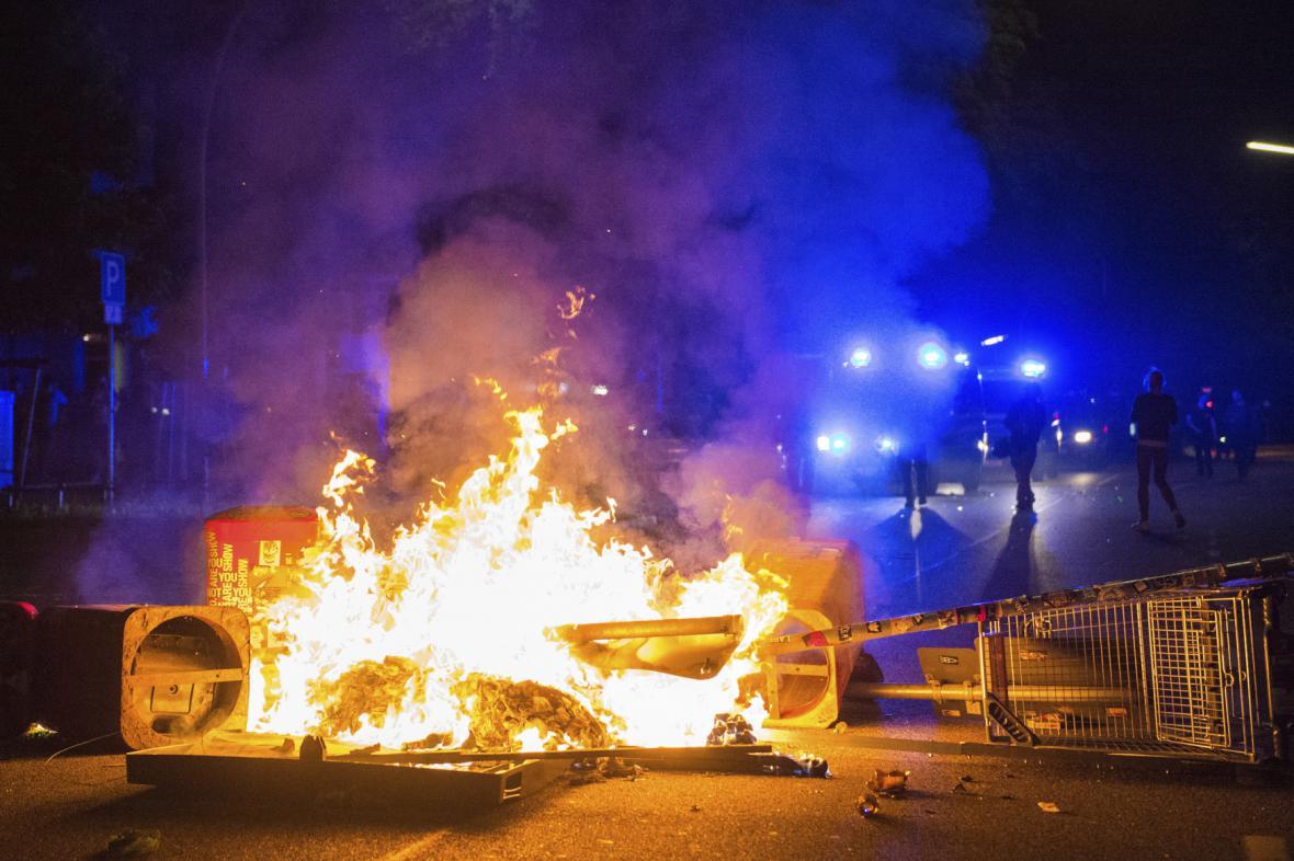 Nepokoje v Hamburku