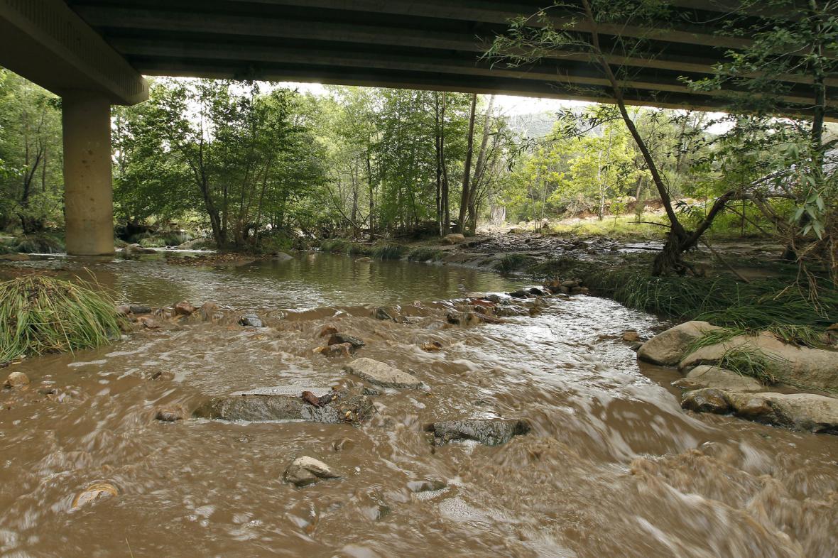 Blesková povodeň v Arizoně