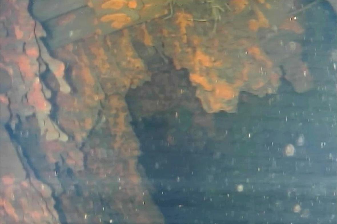 Podmořské snímky oblasti u Fukušimy