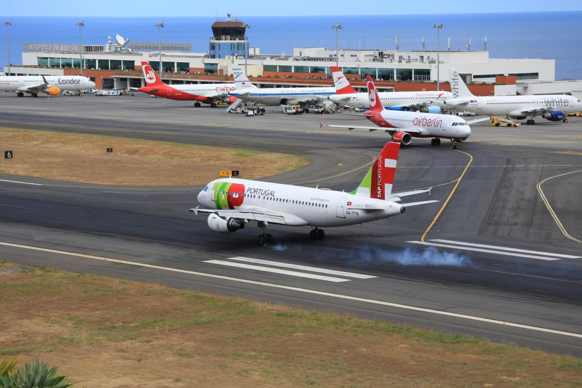 Letiště ve Funchalu