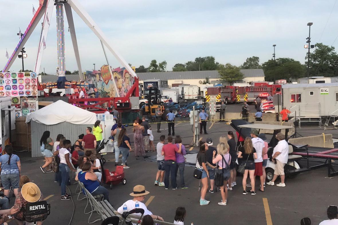 Nehoda na pouti v Ohiu