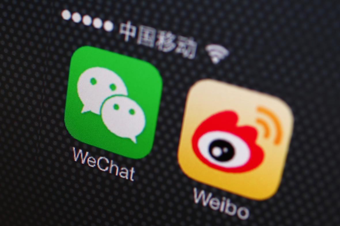 Čínské sociální sítě