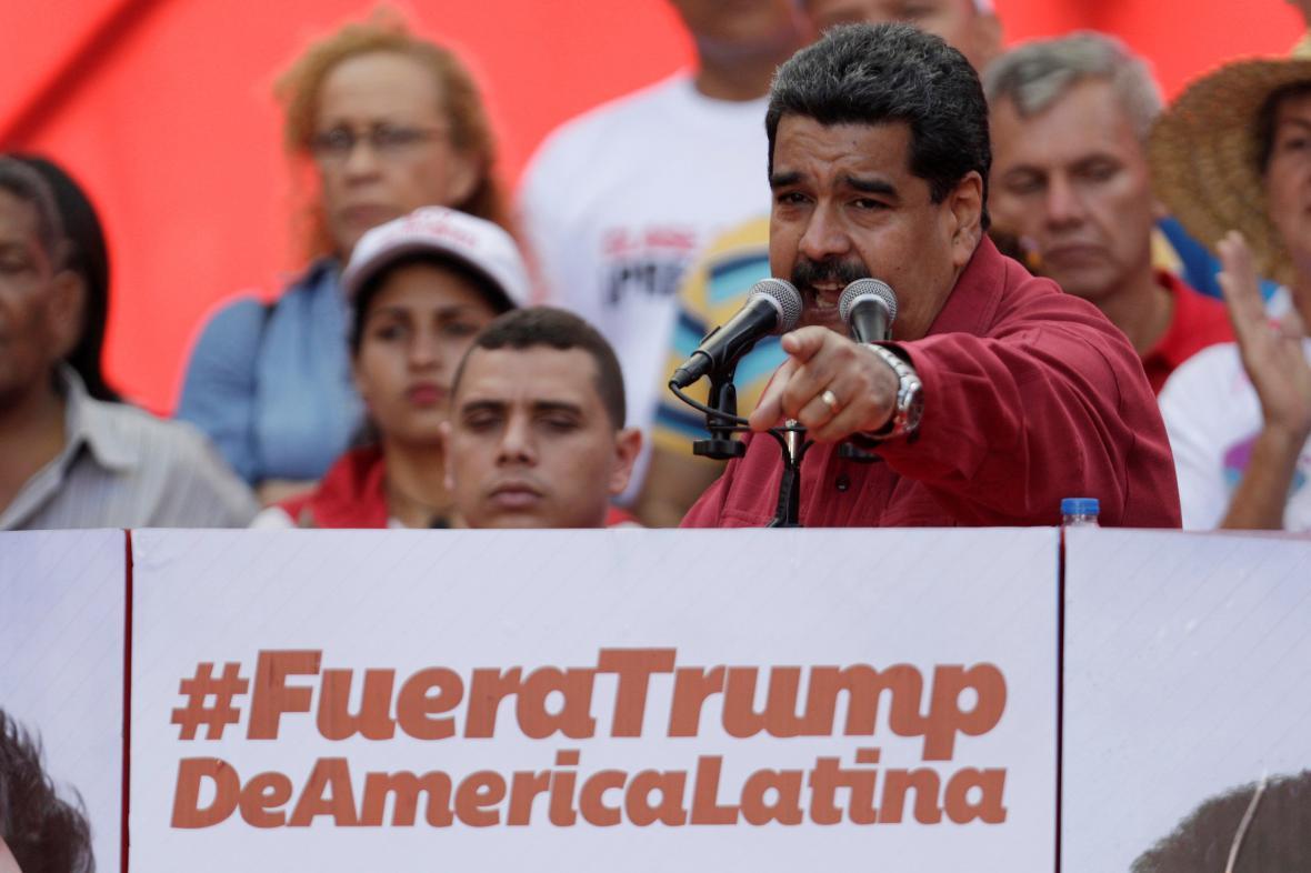 Maduro na demonstraci