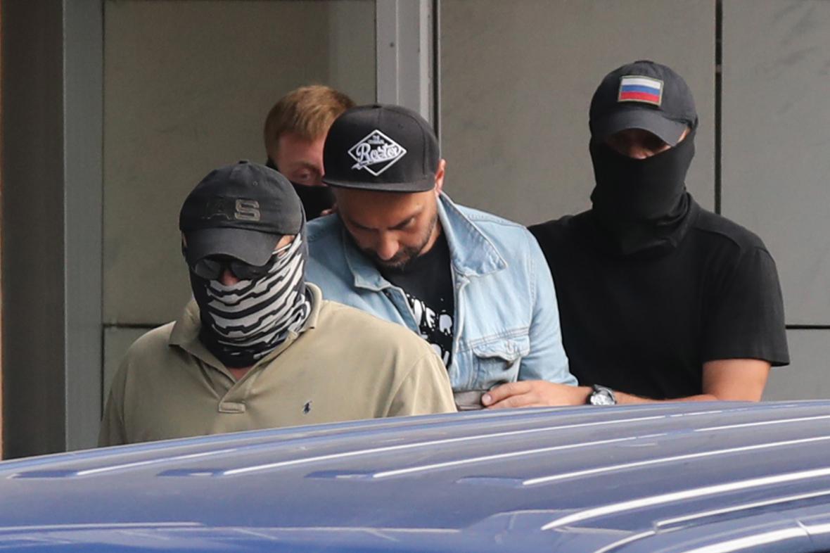 Ruská policie si přišla pro režiséra Kirilla Serebrennikova