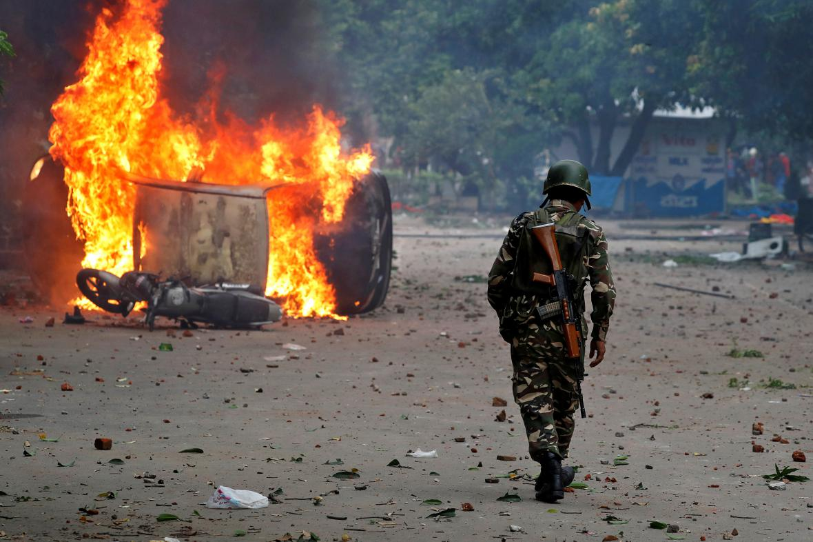 Nepokoje v Indii