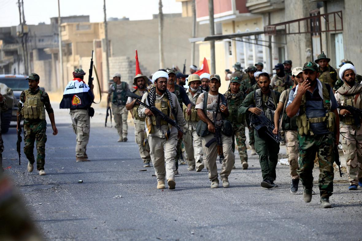 Irácké síly v Tal Afaru