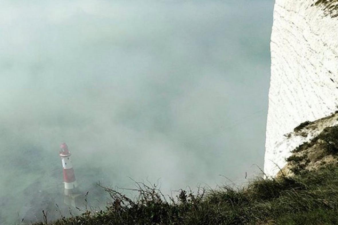 Škodlivá mlha u britského pobřeží