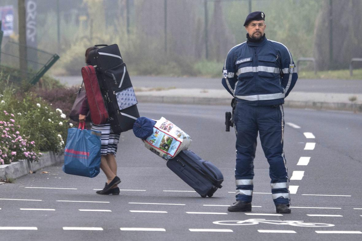 Evakuace ve Frankfurtu nad Mohanem kvůli nevybuchlé letecké pumě