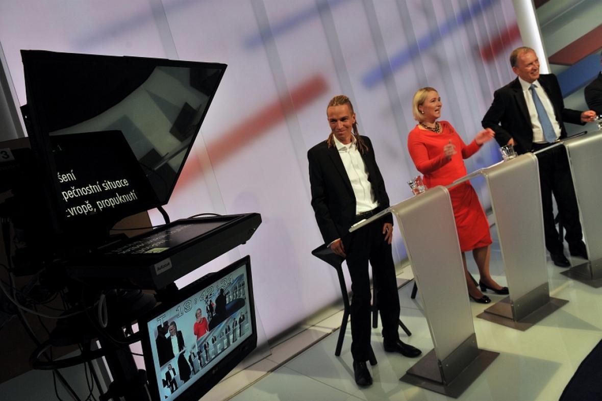 Předvolební debata ČT24