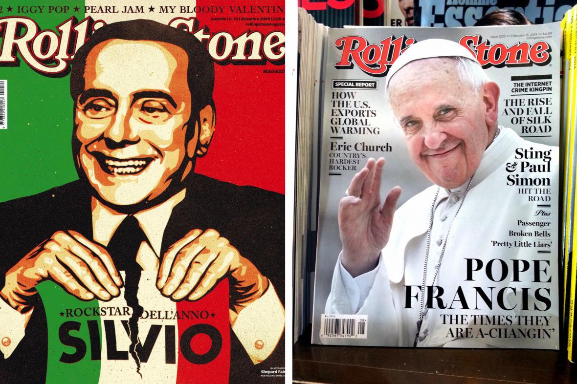 Obálky časopisu Rolling Stone