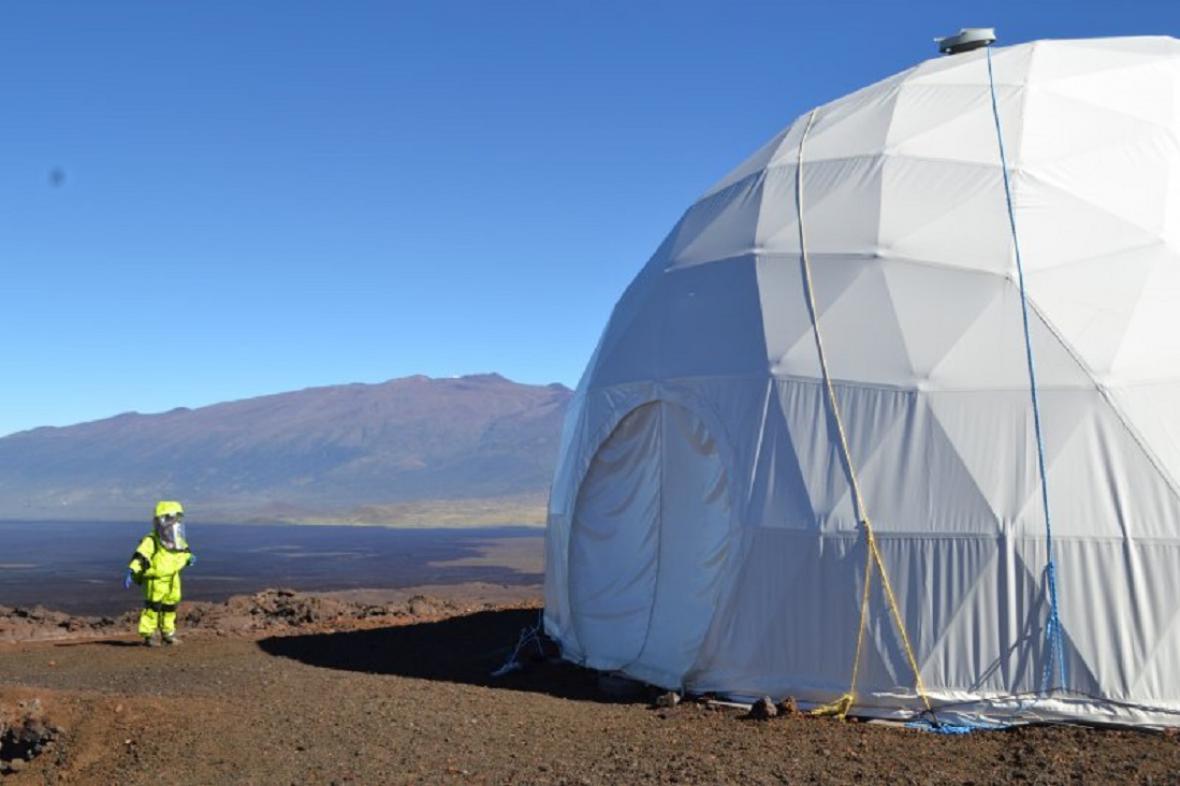Areál na Mauna Kea má připomínat Mars