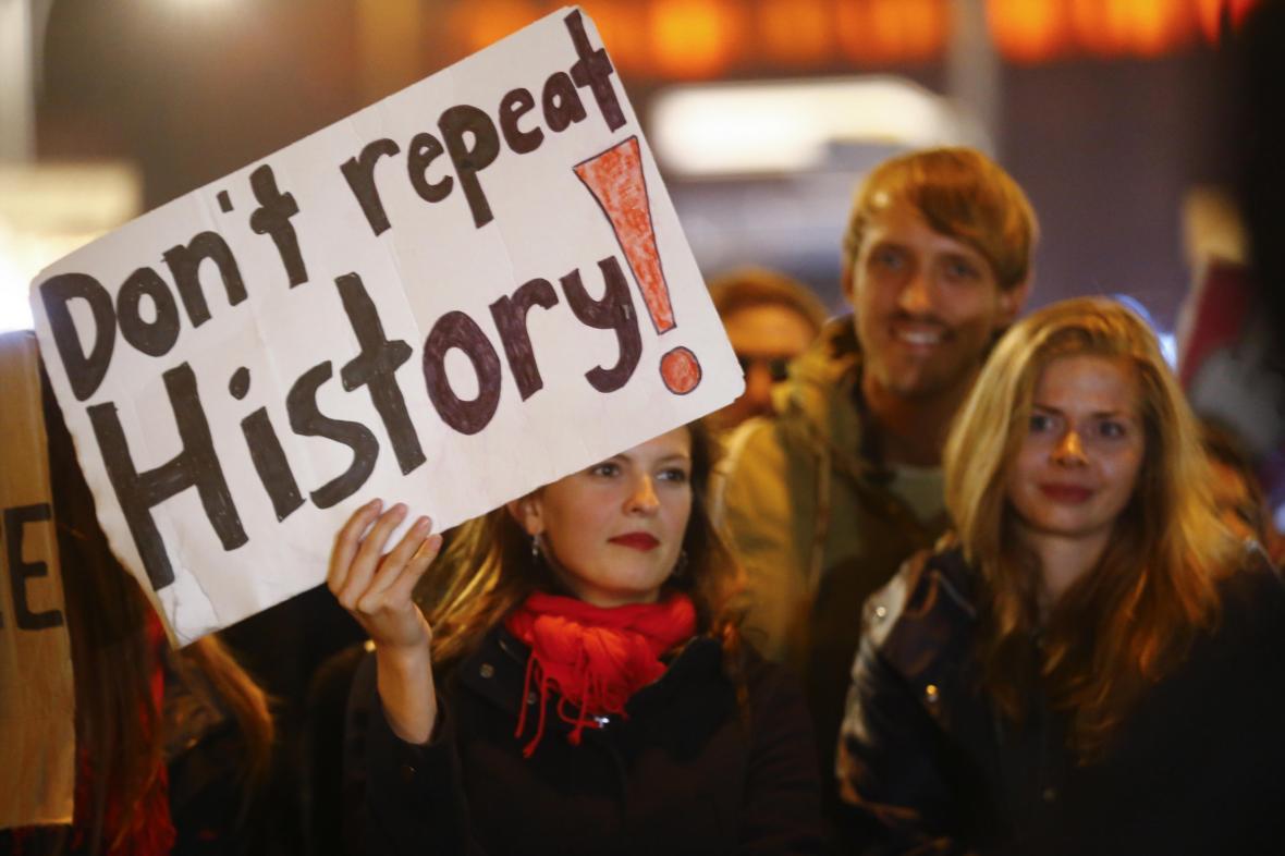 Protest proti AfD
