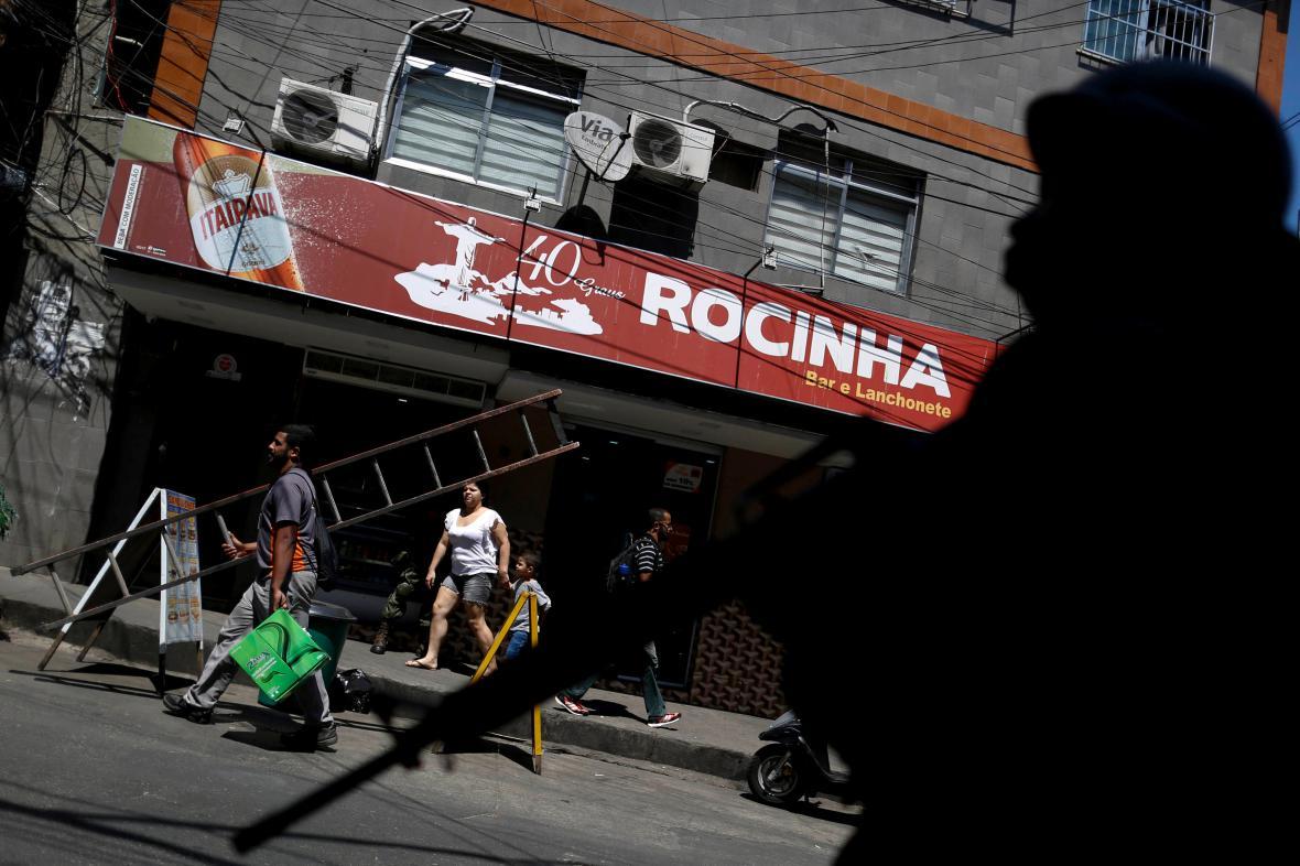 Napjatá situace ve čtvrti Rocinha