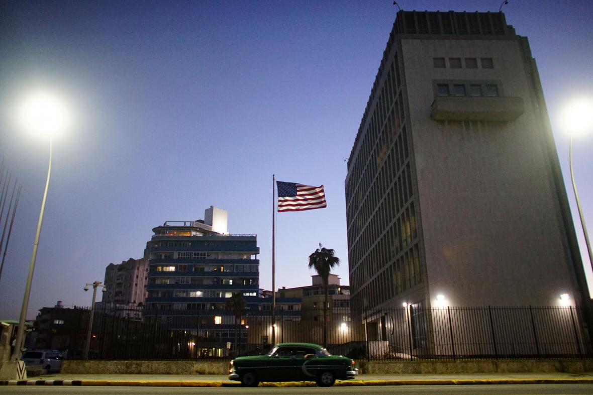 Americká ambasáda na Kubě