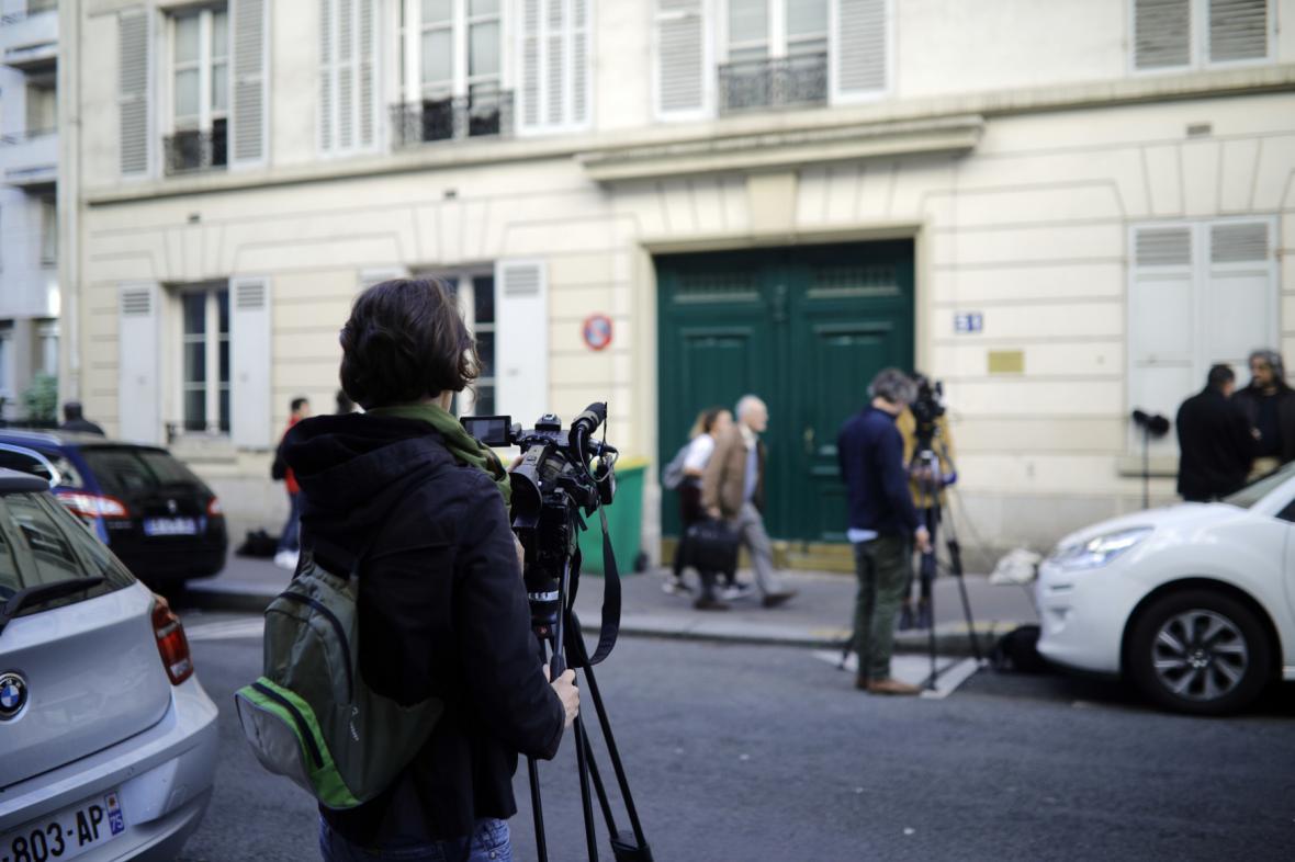 Nález výbušniny v Paříži
