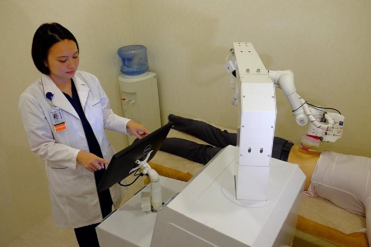 Robotická masérka