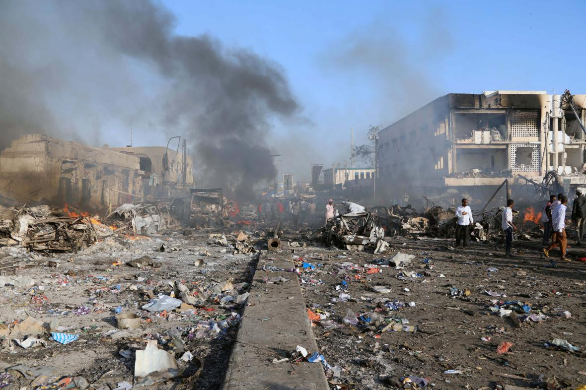 Útok v Mogadišu