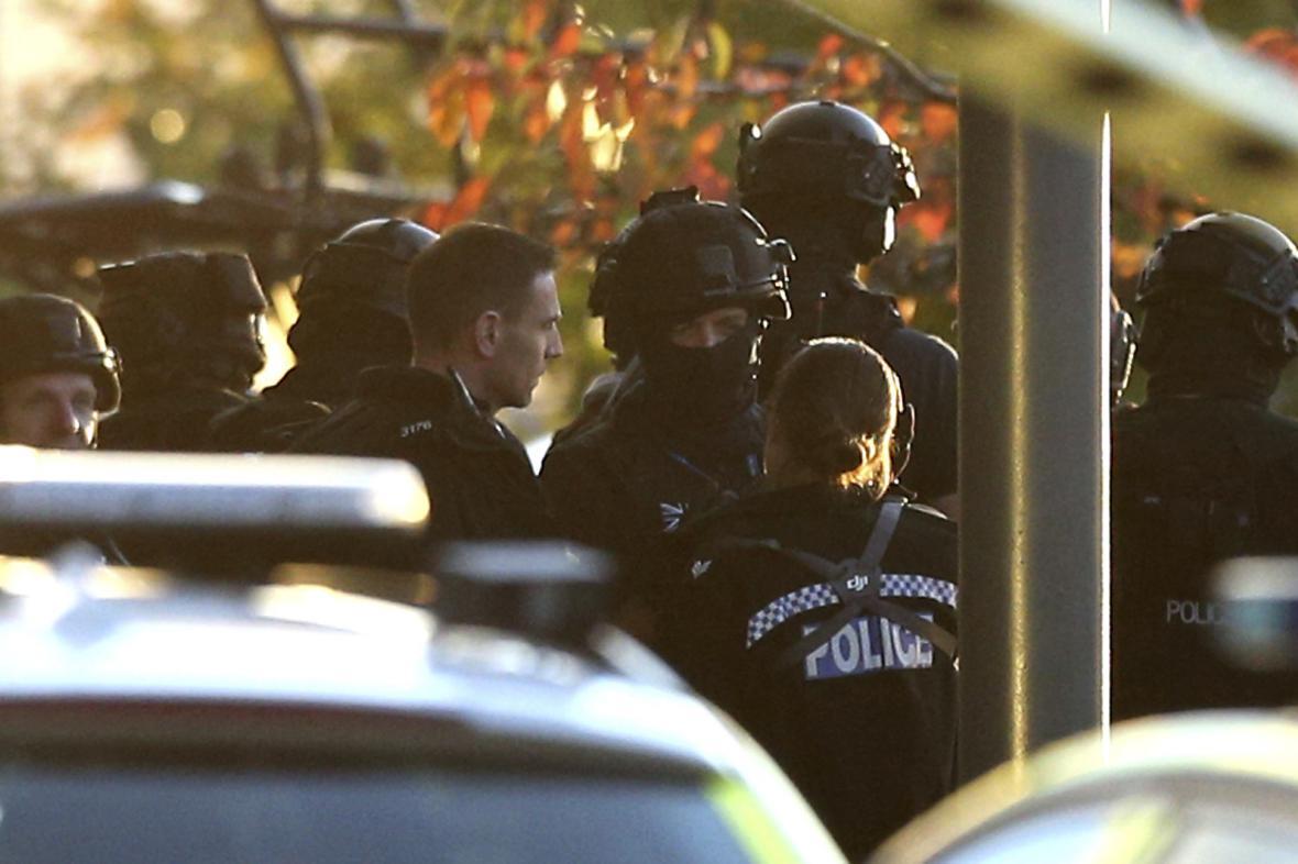 Policejní zásah v Bermuda Parku