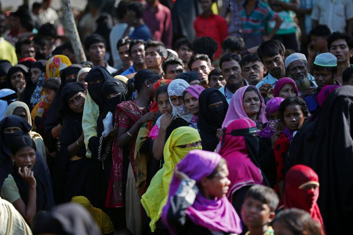 Uprchlíci z řad Rohingů