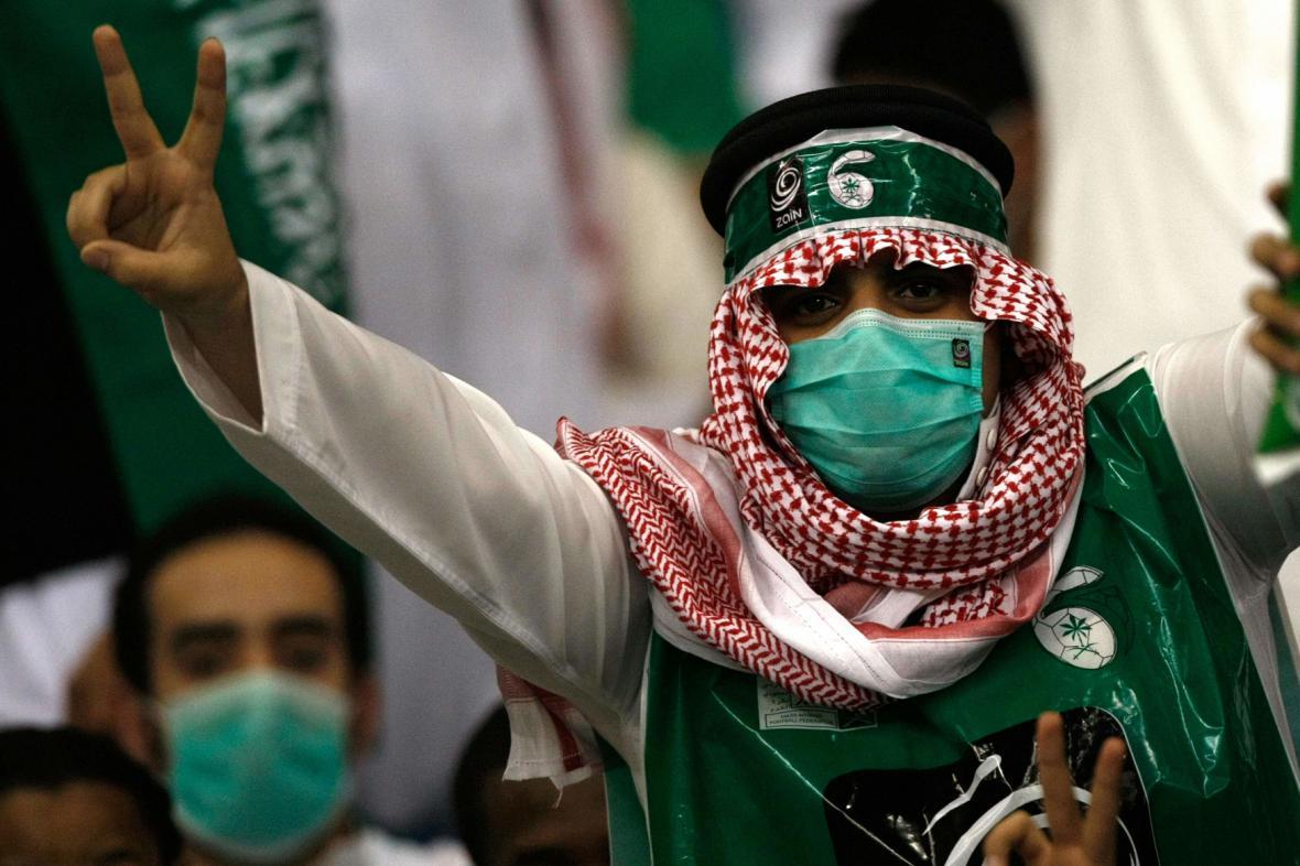 Dosud směli na sportovní akce jen saúdští muži