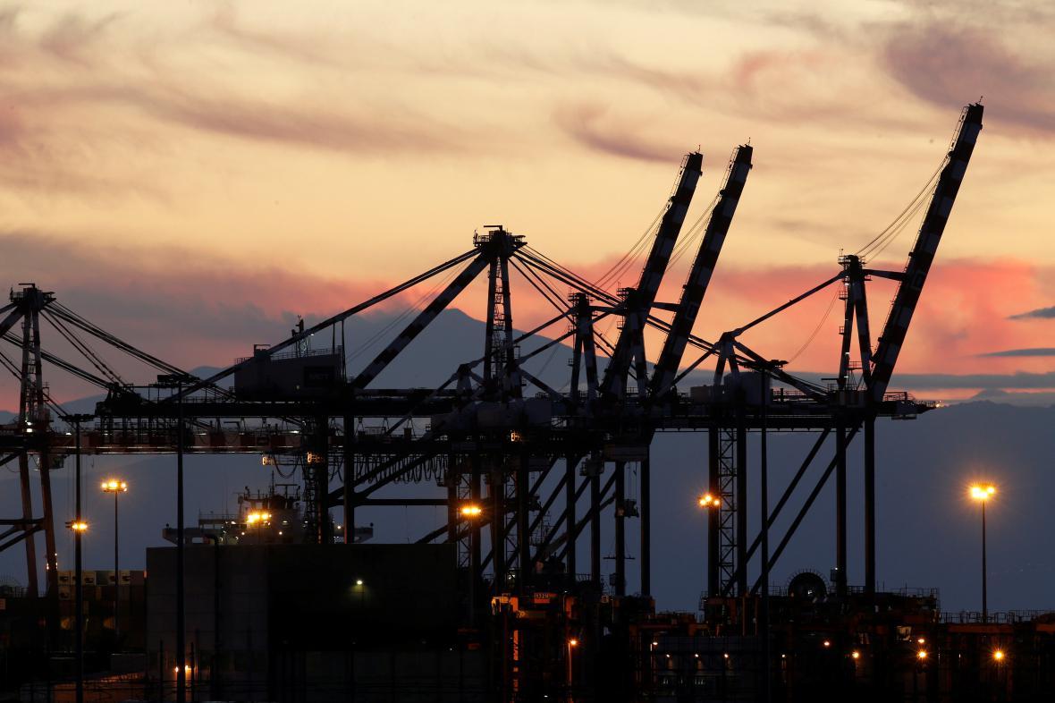 Italský přístav Gioia Tauro