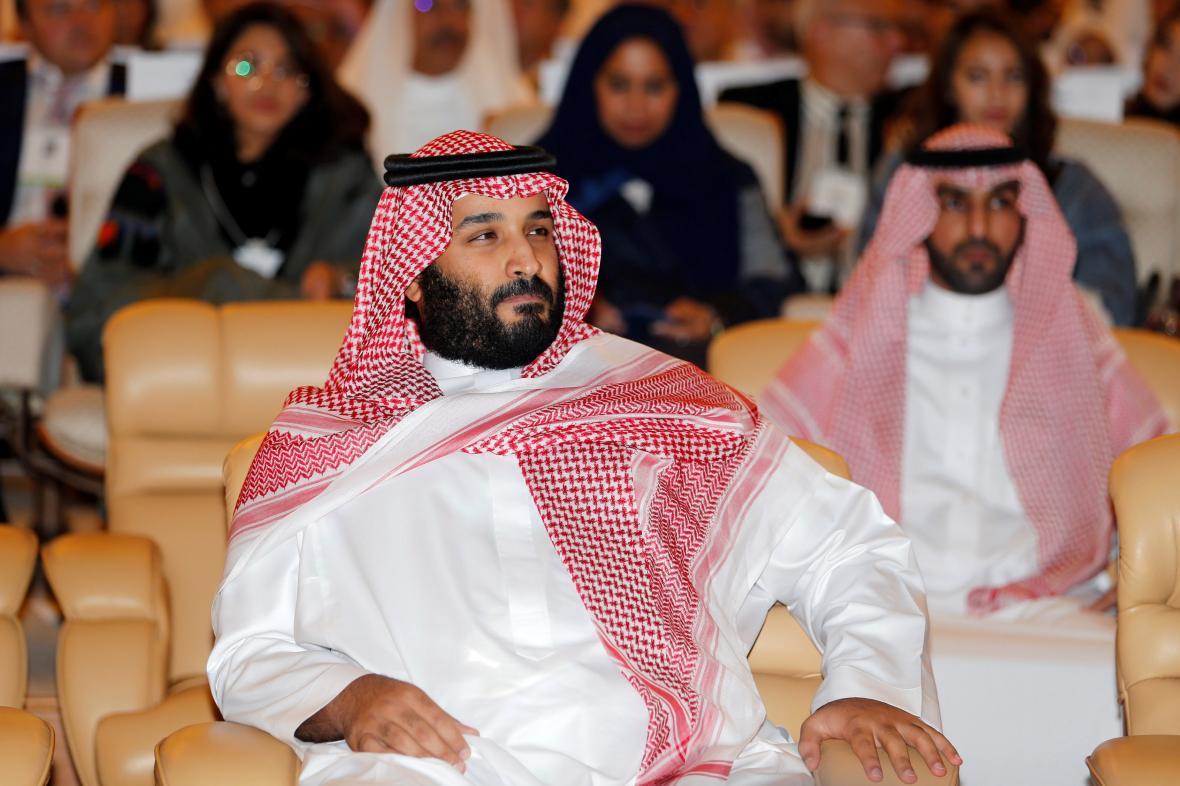 Korunní princ Muhammad bin Salmán
