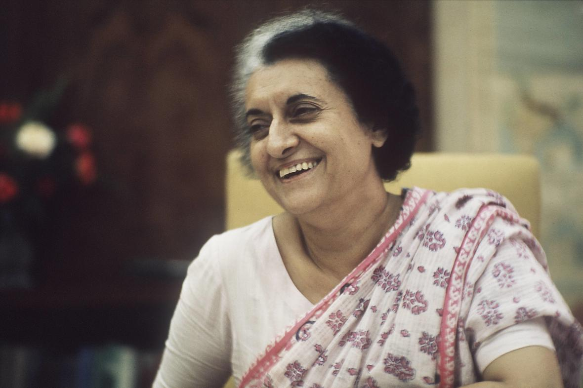 Indira Gándhíová
