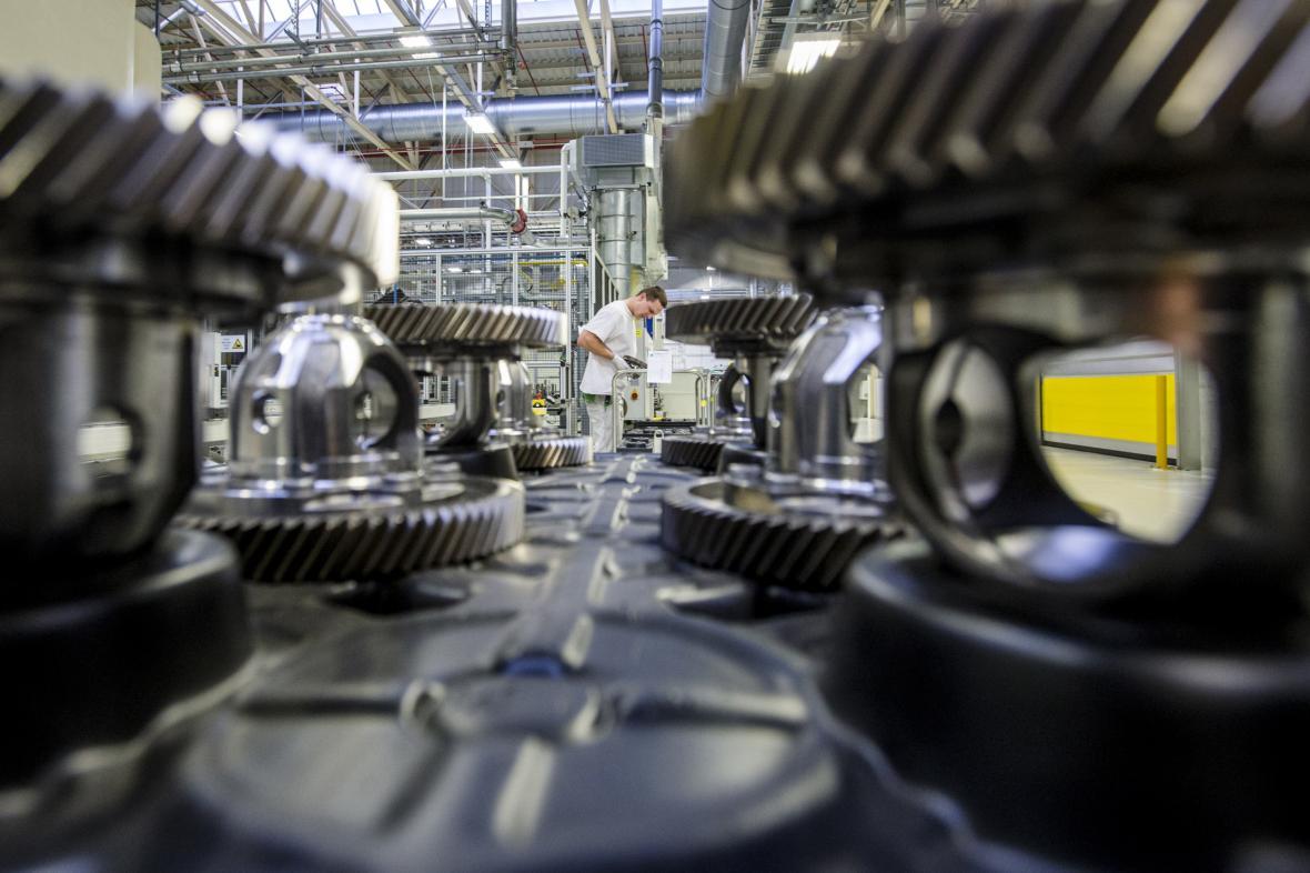 Výroba převodovek ve Škoda Auto