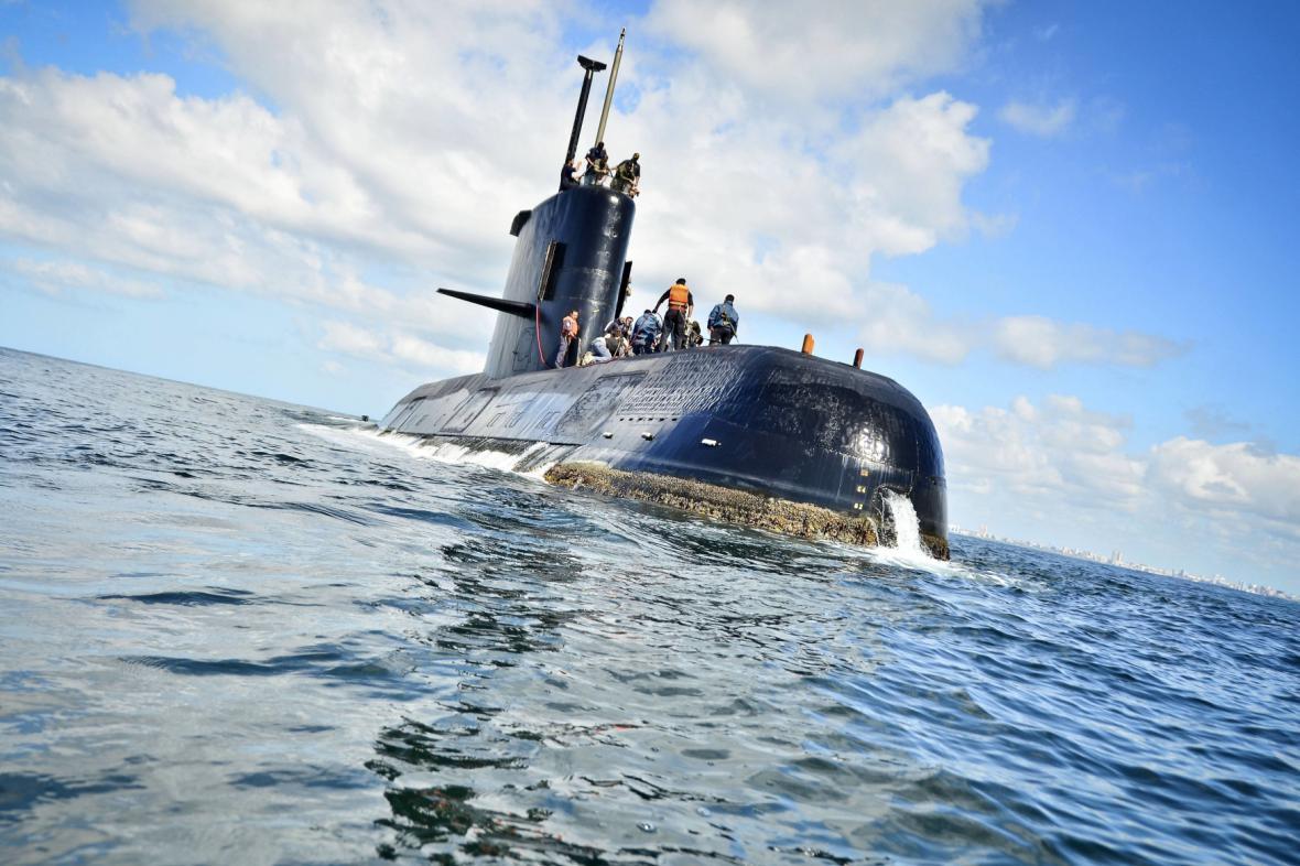Pohřešovaná argentinská ponorka