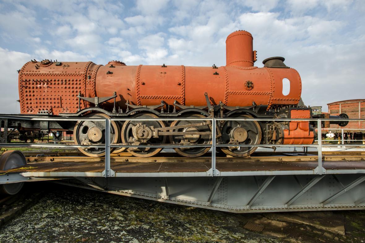 Lokomotiva Conrad Vorlauf