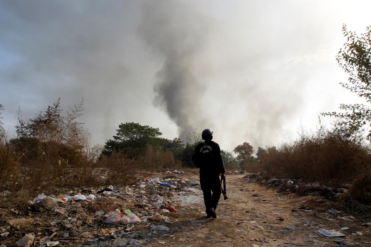 Násilí v Islámábádu