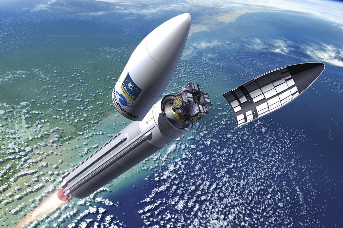 Vypuštění satelitu Galileo