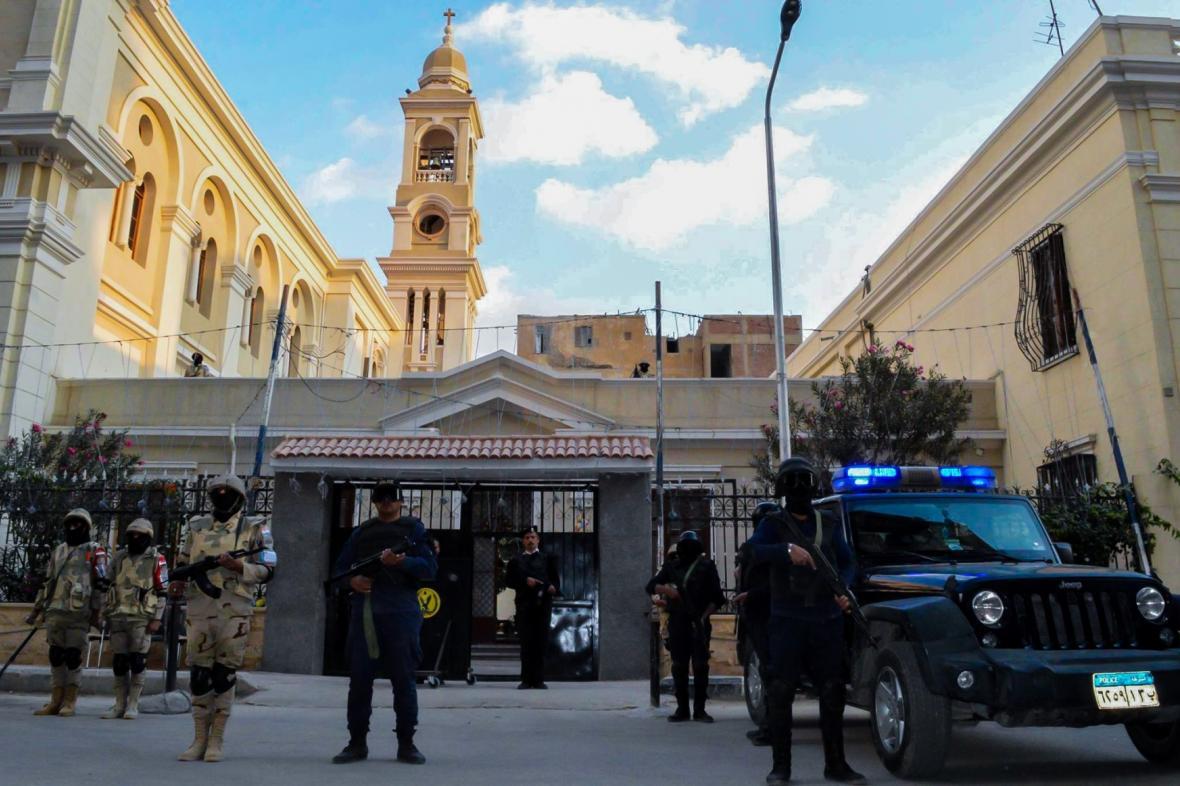 Bezpečnostní opatření v Káhiře