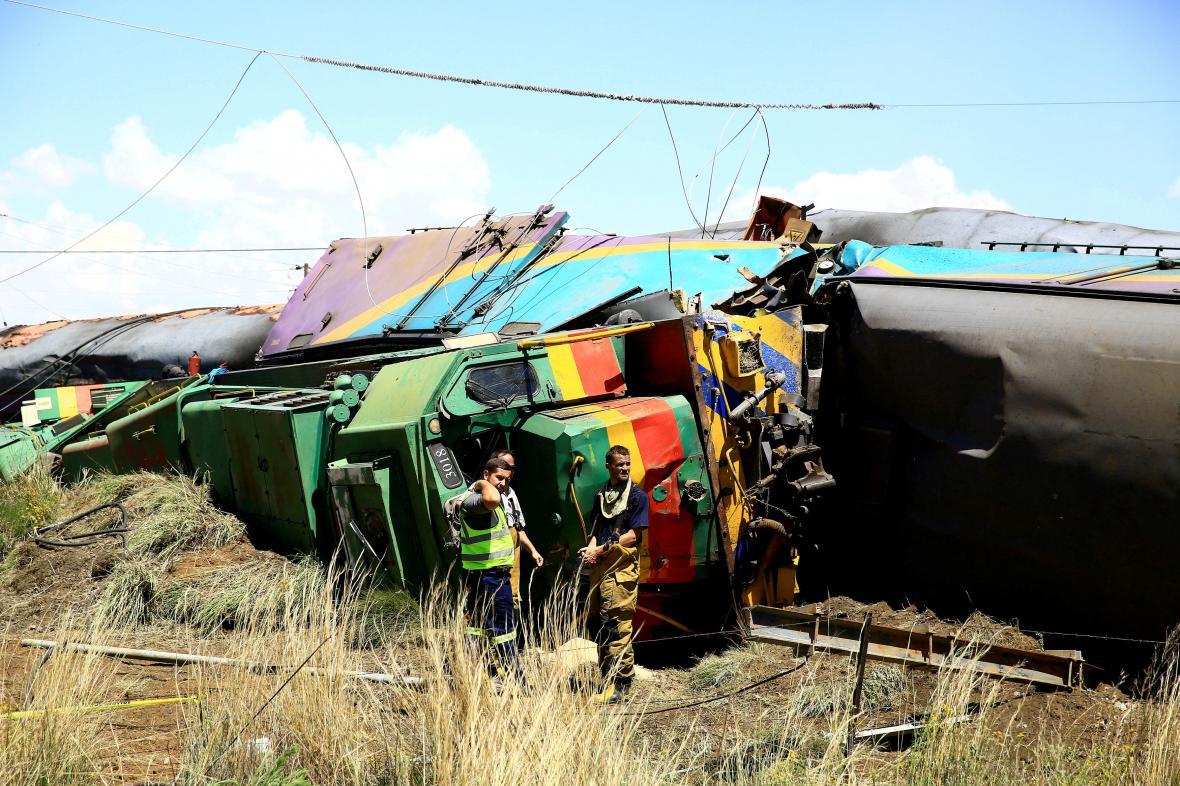 Vlakové neštěstí v JAR