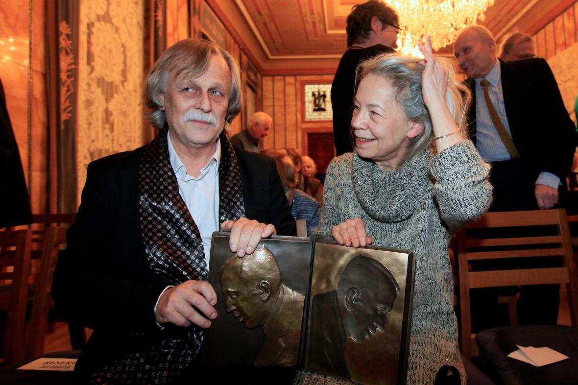 Jiří Dědeček a Erika Abramsová