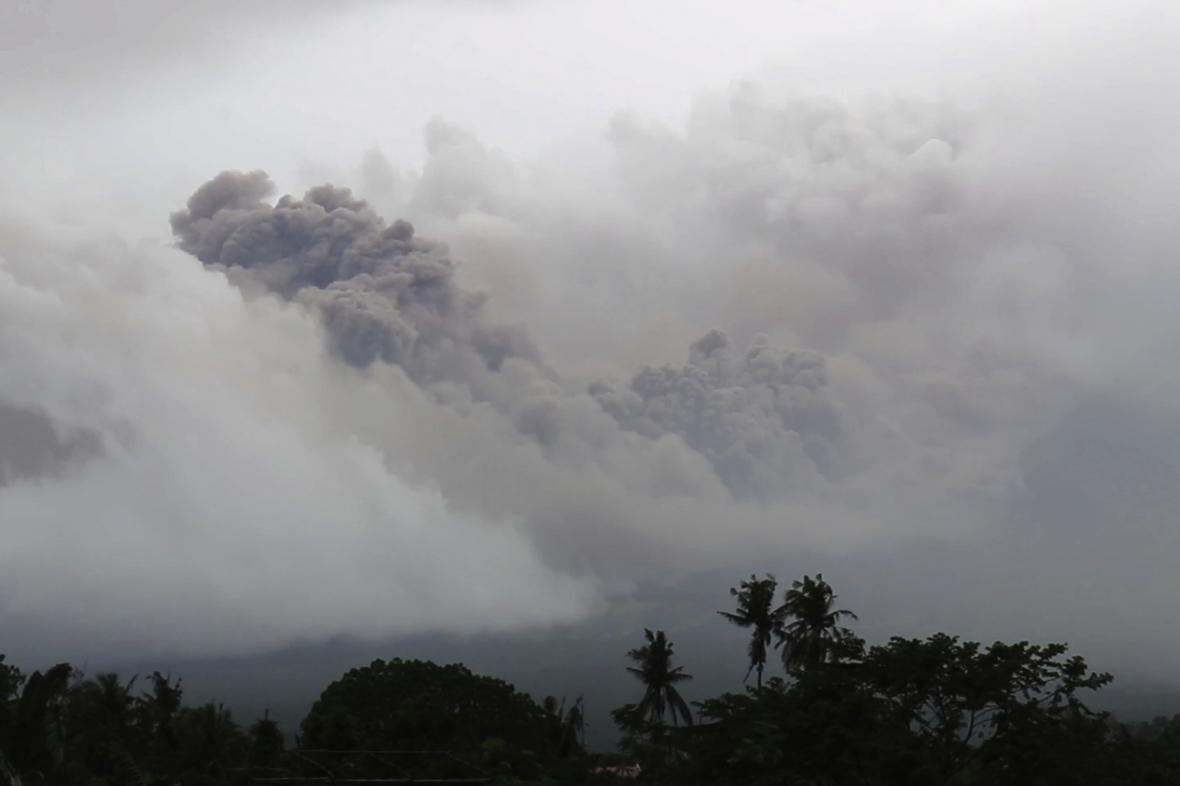 Filipíny se připravují na erupci sopky Mayon