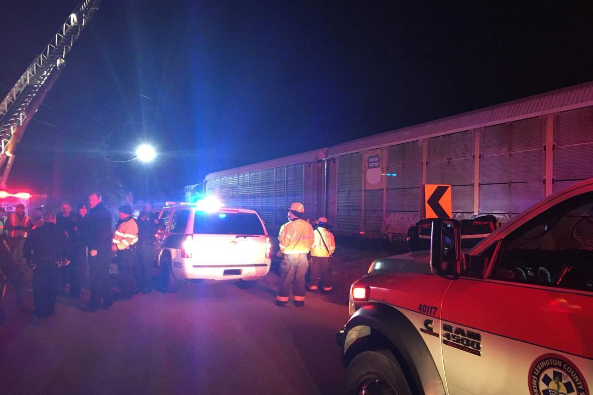 Vlakové neštěstí v Jižní Karolíně